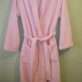 Шикарный, тёплый пушистый халат EA размер 12/14.