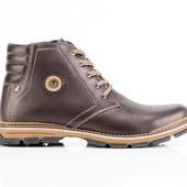 Ботинки Зимние Кожаные (045к)