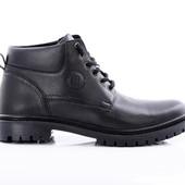 Зимние Ботинки Кожа (048ч)