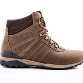 Ботинки Зимние Кожаные (084к)