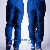 Зимние мужские штаны на синтепоне
