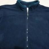 Мужская флисовая кофта от ТСМ(германия), цвет - синий , размер ххл((54)
