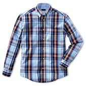 Мужская рубашка . ТСМ(германия), размер 54-56 ворот 45-46. Хлопок 100%