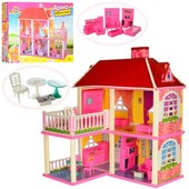 Домик для кукол с мебелью 6980