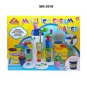 Пластилин MK 0516 Фабрика мороженого, 8 цветов.