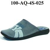 100-AQ-4S-025  подростковые , мужские тапочки , Inblu Инблу, размеры 34-41