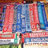 Фирменная коллекция футбольних шарфов оригинал .