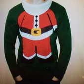 Новогодний свитер, реглан,  размер М- Л