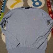 Крутой реглан джемпер от Polo, размер М