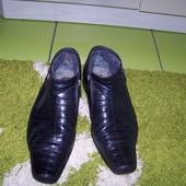 Теплые натуральные ботинки на мужчину 41-42 р.
