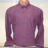 Мужская тёплая рубашка в клетку Nens, Турция. 14 видов.