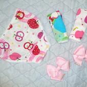 Трусы трусики для девочек 2-3 года хлопчатобумажное белье