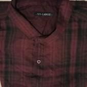 Мужская рубашка в клетку  . ТСМ-Такко(германия), размер л и ххл