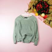M-L Forever21 плотный серый свитер свободного кроя!0135