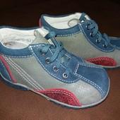 Ботиночки натуральные 24 размер мальчик