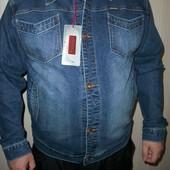 джинсовый лепень куртка мужская р.s m l xl 2xl 3xl 4xl
