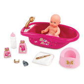 Ванночка для куклы с аксессуарами Baby Nurse Smoby 220302