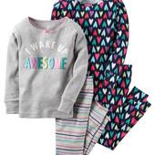 Пижама для девочки Carter's