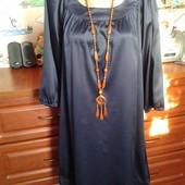 Vero moda(индия) красивое платье свободного кроя 46-48р