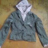 катонова куртка обманка,11-12р,146-152см