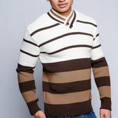 Модный мужской свитер 50, 52, 54.