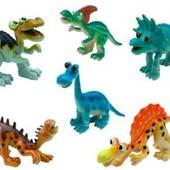 Набор игрушек-фигурок Сафари Динозавры 6 шт от Baby Team
