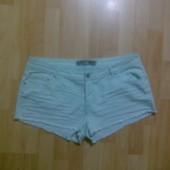 Фирменные джинсовые шорты XL