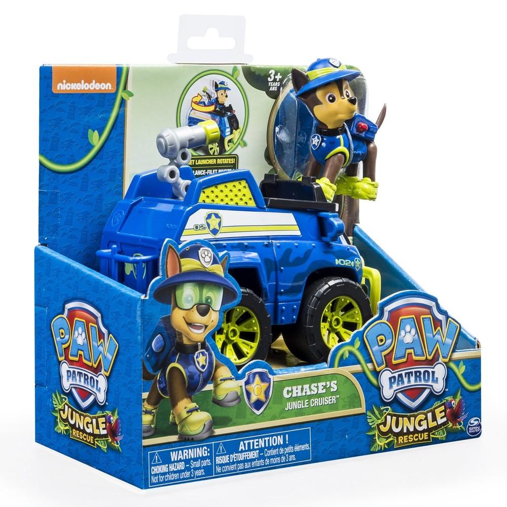 Цена снижена! paw patrol jungle гонщик на джангл машине, в наличии! фото №2