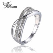 Нежное серебряное кольцо JewelryPalace Бесконечность.