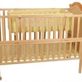 Детская кроватка-манеж  geoby