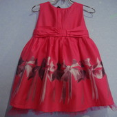 нарядное платье для девочки 1.5-2 года Baker