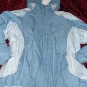 Мужская термокуртка лыжная landsend 3X  24W 26W.Очень большой розмер