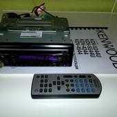 Автомагнитола dvd ресивер Kenwood KDV 5244U з usb интерфейсом