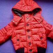 Original Marines Оригинал !!!! Мега теплая пуховая зимняя куртка, 2 размер !!!