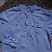 рубашка для мальчика 6-7 лет H&M