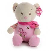 IF53 М'яка іграшка рожевий ведмедик 45 см