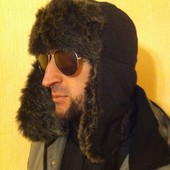 Теплейшая зимняя шапка (на объем 56-58 см)