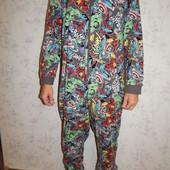 Marvel слип трикотажный, пижама человечек мужской рL/XL