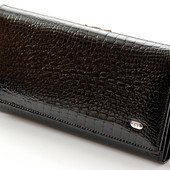 Женский кожаный кошелек ST лаковый В наличии разные модели