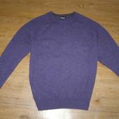 Мужской свитер М-размер 100% шерсть