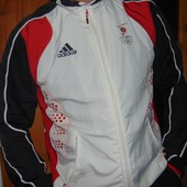 Спортивная оригинал мастерка  кофта реглан Adidas.Олимпиада . зб.Тринидад и Тобаго .м-л