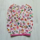 Размер 18 месяцев. Стильная блуза для девочки. Состояние: новой вещи
