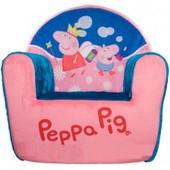 Мягкое детское кресло Свинка Пеппа