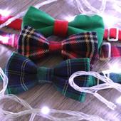 Бабочка -галстука новогодние