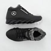 Зимние ботинки Jordan кожа