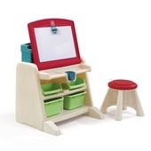 Столик - парта - мольберт Step2 Flip and Doodle Desk Акция