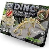 Раскопки динозавров 2 скелета палеонтология Danko Toys Данко Тойс dp-01
