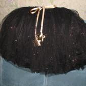 Шикарная длинная юбка 110-170см фатиновая для малышки и мамы