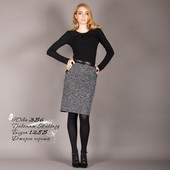 Теплая юбка + блуза женская размер от 40 (ХС) по 56