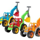 Трактор с ковшем Технок